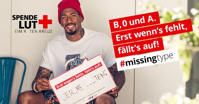 #missingtype – Erst wenn's fehlt, fällt's auf!
