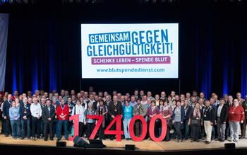 Kreisverband Ansbach - Blutspenderehrung Erlangen 2016