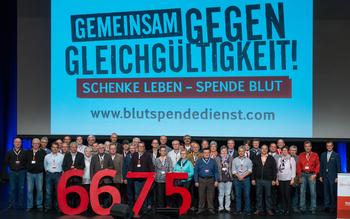 Kreisverband Kitzingen - Blutspenderehrung Würzburg 2016