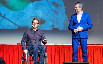 Felix Brunner & Michael Sporer - Blutspenderehrung Kulmbach 2017