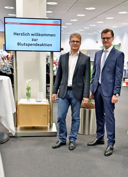 Dr. Andreas Haller (links) und Georg Götz
