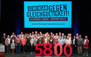 Kreisverband Eichstätt - Blutspenderehrung Fürstenfeldbruck 2016