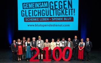 Kreisverband Garmisch-Tölz - Blutspenderehrung Fürstenfeldbruck 2016