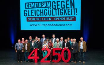 Kreisverband Traunstein - Blutspenderehrung Fürstenfeldbruck 2016