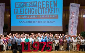 Kreisverband Hassberge - Blutspenderehrung Bad Kissingen 2016