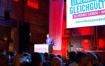 Georg Götz - Blutspenderehrung Kolbermoor 2017