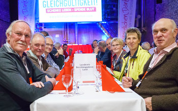 Landkreis Berchtesgadener Land - Blutspenderehrung Kolbermoor 2017