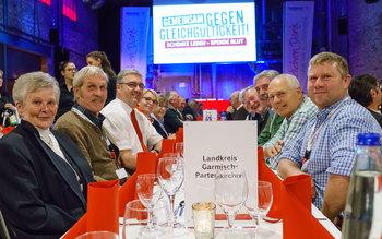 Landkreis Garmisch-Patenkirchen - Blutspenderehrung Kolbermoor 2017