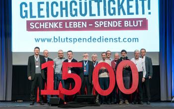 Kreisverband Regen - Blutspenderehrung Straubing 2016