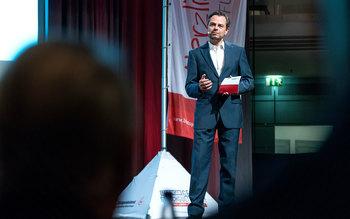 Michael Sporer - Blutspenderehrung Straubing 2016