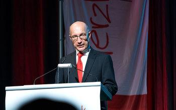Dr. Franz Weinauer - Blutspenderehrung Straubing 2016