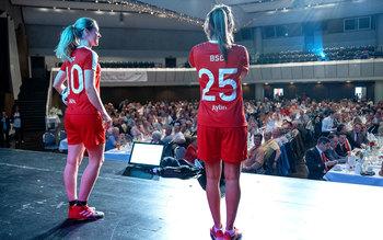 Fußballkünstlerinnen Ehrung Würzburg 2018