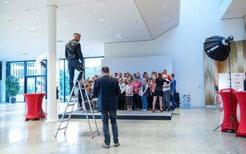 Gruppenfoto Ehrung Würzburg 2018