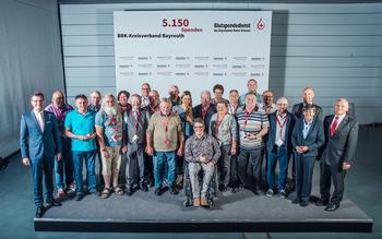 KV Bayreuth - Blutspenderehrung Hof 2018