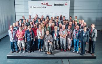 KV Coburg - Blutspenderehrung Hof 2018