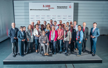 KV Forchheim - Blutspenderehrung Hof 2018