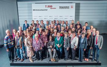 KV Hof - Blutspenderehrung Hof 2018