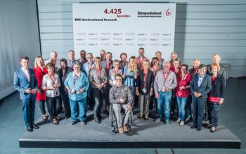 KV Kronach - Blutspenderehrung Hof 2018