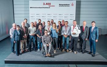 KV Kulmbach - Blutspenderehrung Hof 2018