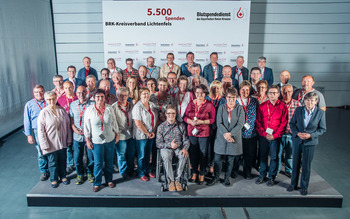 KV Lichtenfels - Blutspenderehrung Hof 2018