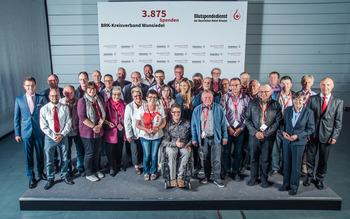 KV Wunsiedel - Blutspenderehrung Hof 2018