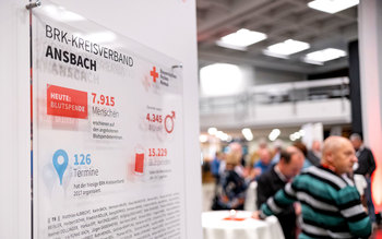 Blutspenderehrung Erlangen 2018