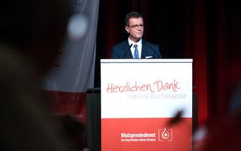 Georg Götz - Blutspenderehrung Erlangen 2016