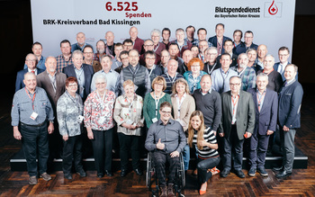 BSD-BRK-Ehrung 2019 Würzburg - Kreisverband Bad Kissingen (Copyright Emanuel Klempa)