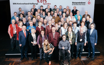BSD-BRK-Ehrung 2019 Würzburg - Kreisverband Haßberge (Copyright Emanuel Klempa)