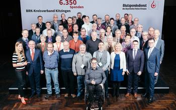 BSD-BRK-Ehrung 2019 Würzburg - Kreisverband Kitzingen (Copyright Emanuel Klempa)