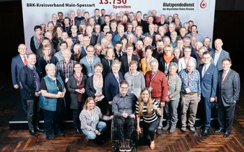 BSD-BRK-Ehrung 2019 Würzburg - Kreisverband Main-Spessart (Copyright Emanuel Klempa)