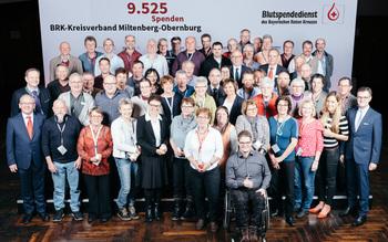 BSD-BRK-Ehrung 2019 Würzburg - Kreisverband Miltenberg-Obernburg (Copyright Emanuel Klempa)