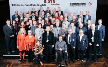 BSD-BRK-Ehrung 2019 Würzburg - Kreisverband Rhön-Grabfeld (Copyright Emanuel Klempa)