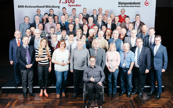 BSD-BRK-Ehrung 2019 Würzburg - Kreisverband Würzburg (Copyright Emanuel Klempa)