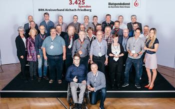 BSD-BRK-Ehrung 2019 Augsburg - Kreisverband Aichach-Friedberg (Copyright Emanuel Klempa)