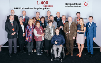 BSD-BRK-Ehrung 2019 Augsburg - Kreisverband Augsburg-Stadt (Copyright Emanuel Klempa)