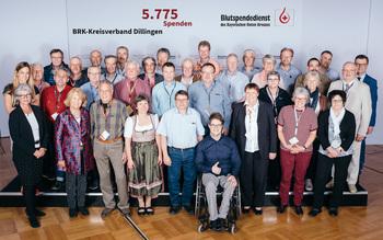 BSD-BRK-Ehrung 2019 Augsburg - Kreisverband Dillingen (Copyright Emanuel Klempa)
