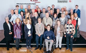 BSD-BRK-Ehrung 2019 Augsburg - Kreisverband Oberallgäu (Copyright Emanuel Klempa)