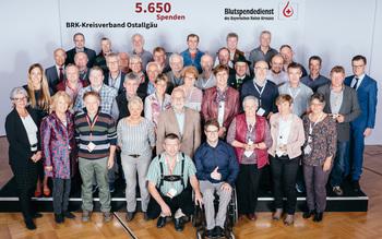 BSD-BRK-Ehrung 2019 Augsburg - Kreisverband Ostallgäu (Copyright Emanuel Klempa)