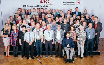 BSD-BRK-Ehrung 2019 Augsburg - Kreisverband Unterallgäu (Copyright Emanuel Klempa)