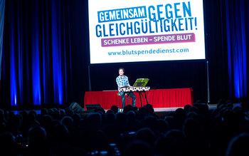 Chris Boettcher - Blutspenderehrung Erlangen 2016