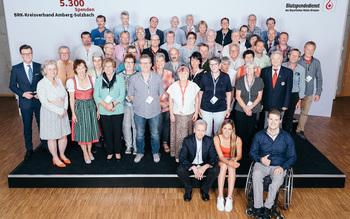 BSD-BRK Ehrung 2019 Regensburg - KV Amberg-Sulzbach (Copyright Emanuel Klempa)