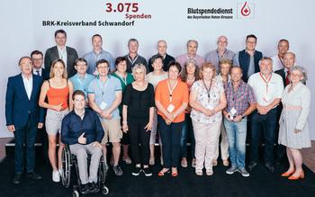 BSD-BRK Ehrung 2019 Regensburg - KV Schwandorf (Copyright Emanuel Klempa)