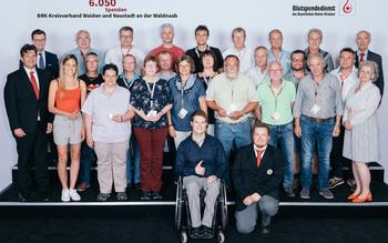 BSD-BRK Ehrung 2019 Regensburg - KV Weiden und Neustadt an der Waldnaab (Copyright Emanuel Klempa)
