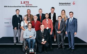 BSD-BRK-Ehrung 2019 Germering - KV Bad Tölz-Wolfratshausen (Copyright Emanuel Klempa)