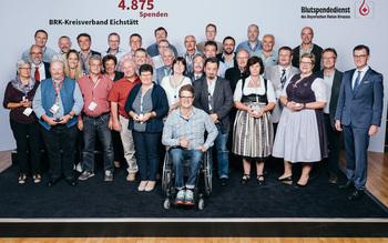 BSD-BRK-Ehrung 2019 Germering - KV Eichstätt (Copyright Emanuel Klempa)