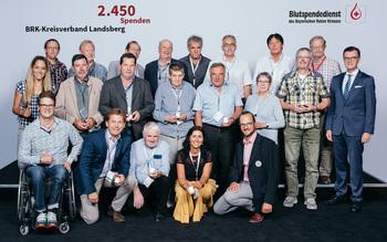 BSD-BRK-Ehrung 2019 Germering - KV Landsberg (Copyright Emanuel Klempa)