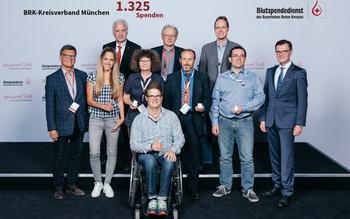 BSD-BRK-Ehrung 2019 Germering - KV München (Copyright Emanuel Klempa)