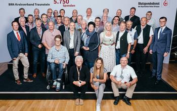 BSD-BRK-Ehrung 2019 Germering - KV Traunstein (Copyright Emanuel Klempa)
