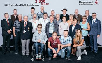 BSD-BRK-Ehrung 2019 Germering - KV Weilheim-Schongau (Copyright Emanuel Klempa)